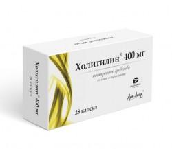 Холитилин, капс. 400 мг №28