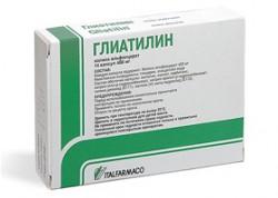 Глиатилин, р-р для в/в и в/м введ. 1000 мг/4 мл 4 мл №3 ампулы